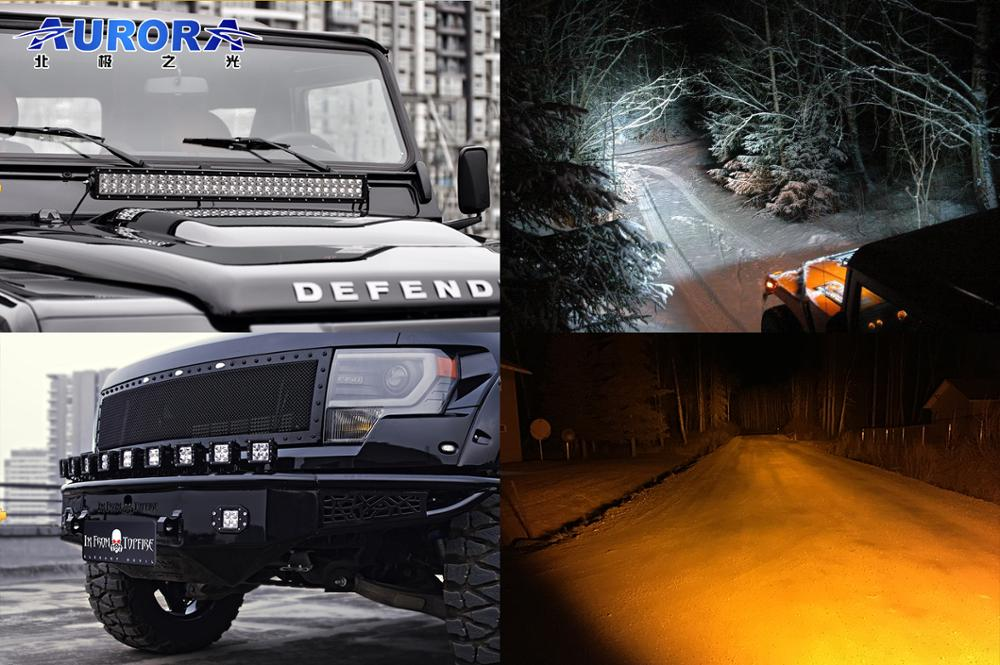 "Superior Quality Toughest Color Adjustable 50"" Led Offroad Fog Light Bar Wholesale"