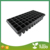 With different holes black plastic plant seedling tray, seed container for greenhouse