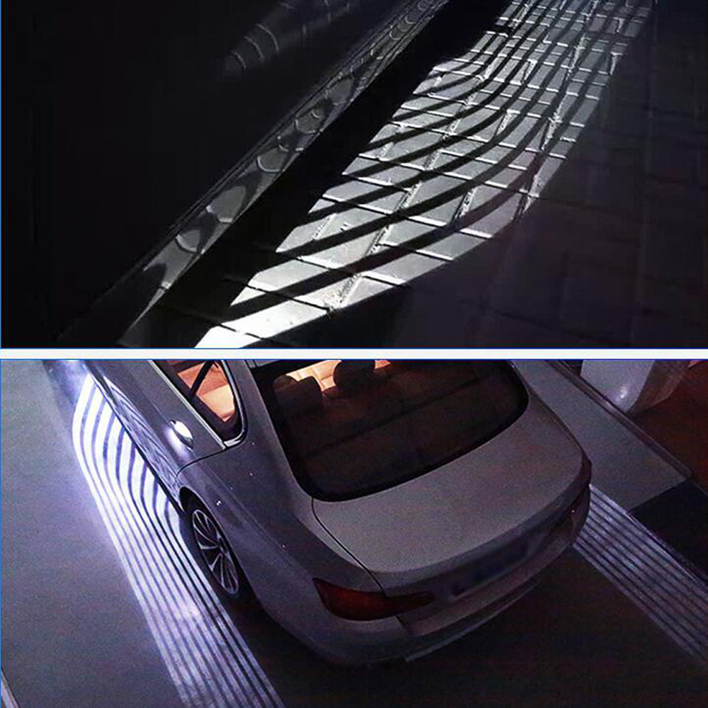 EURS NEW products universal x1 x3 x5 car Carpet led lamp 2018 New design welcome led lights angel wings