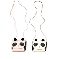 Raged Sheep Girls PU Coin Purse Bag Wallet Kids Panda One Shoulder Bag Small Coin Purse Change Wallet Kids Bag Baby Wallet
