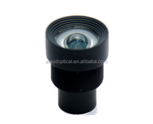 2.97mm 1/2.5'' 5mp low distortion m12 lens for machine vision with IR cut filter