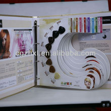 hair color swatch book hair color swatch book suppliers and manufacturers at alibabacom - Hair Color Swatch Book