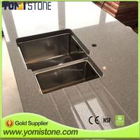 Kitchen table top Quartz Stone Vanity countertops / Quartz tiles / Quartz slabs