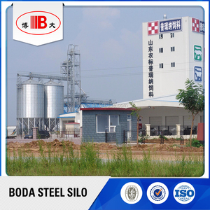 steel silo for cement storage