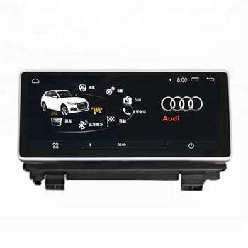 "8.8"" HD screen Android 4.4 car GPS navigation radio video audio player 1+16GB for Audi Q3 deluxe general 2013-2018"