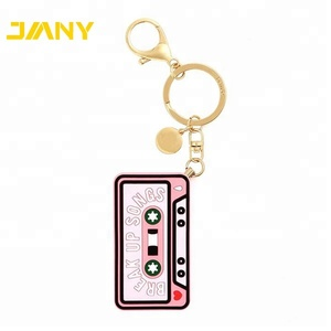 Wholesale Custom 3d Metal Keychain Customized design Hard Enamel Keychain