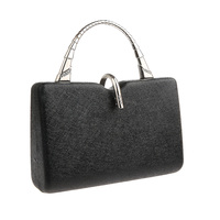 Elegant Fineness Clutch Purses WALLYN'S Evening Bag Handbag Solid Color