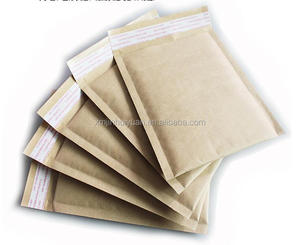 Natural Kraft Paper Gift Shipping Envelope Padded