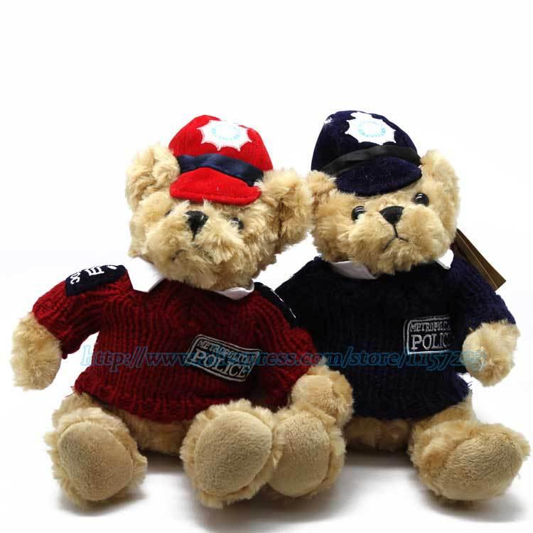 ... Cartoon 25cm Giant Plush Teddy Bear Plush Stuffed Animals Cute Bears  Dolls Birthday Valentines For Kids