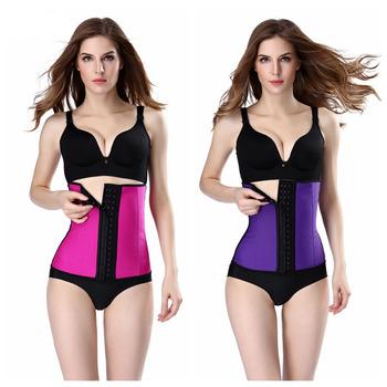 193e19512d117 latex waist corsets Stomach Tummy Cincher Trainer Corset SL550 Waist  Trainer Firm Control Women Waist Corsets