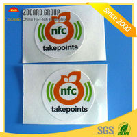 Passive Round Shape Pre-programmed RFID Tag