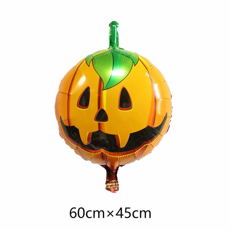 Halloween toys pumpkin spider ballon inflatable Party decoration foil helium balloons