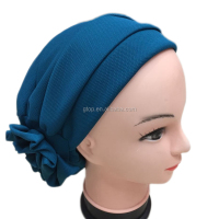 Flower turban cap Headcover for Cancer Chemo Hair Loss