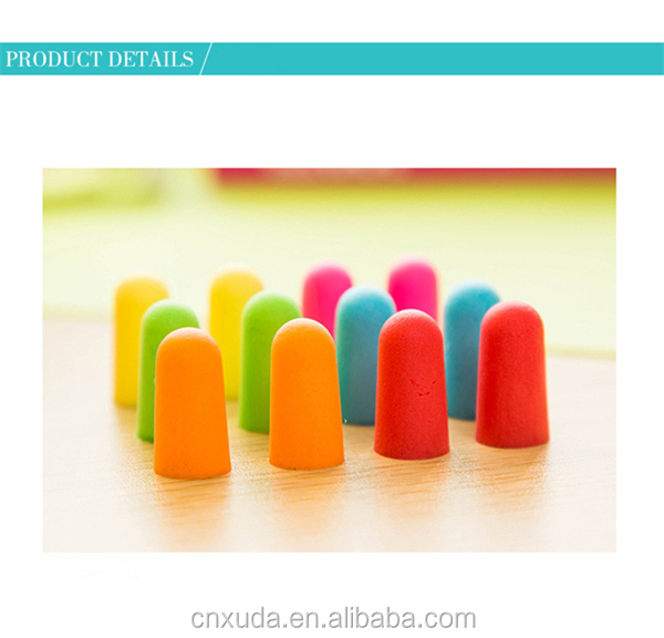 great soft foam sound prevent fashionable product noise proof earplugs