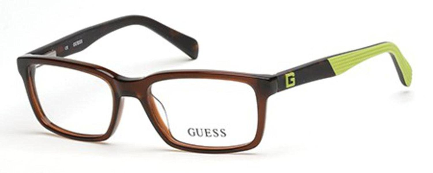 GUESS GU 9147 Eyeglasses 050 Dark Brown