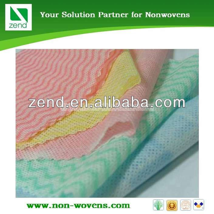 Zend filling nonwoven fabric