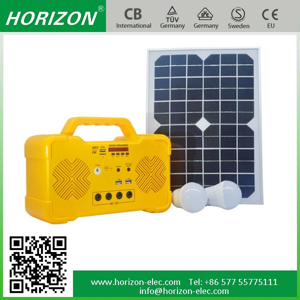 10W Home LED Lighting Solar System Kit MP3/FM Radio Best Seller Portable solar energy system price pakistan in pak rs
