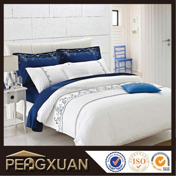 Good Quality Egyptian Cotton 300t Thread Count Fancy Bed Sheets