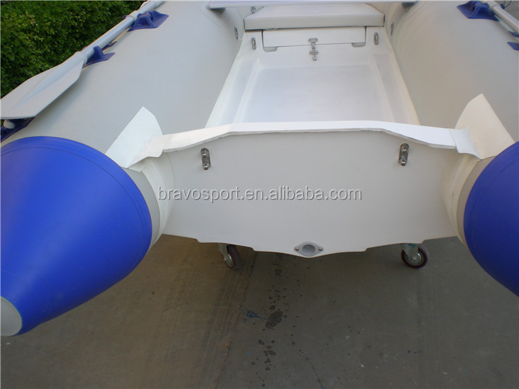 China Fishing Pvc Rib Boat 330 Fiberglass Part Luxury Speed Center Console Boat Rib