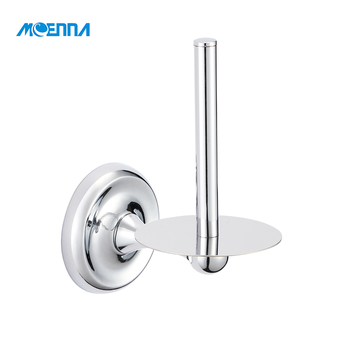 Modern Hanging Chrome Wall Mounted Tissue Kitchen Paper Towel Holder