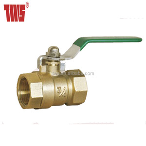 BSP Thread Forged Brass Ball Valve with Handle