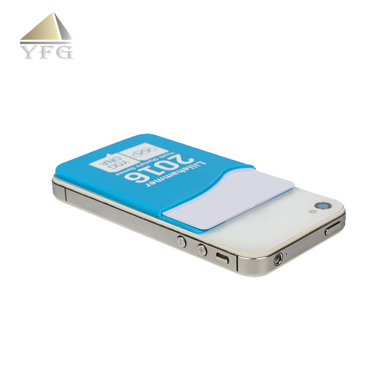 save off 4c1ce c8124 Durable Custom Logo Adhesive Silicone Phone Wallet Sticker - Buy Phone  Wallet Sticker,Cell Phone Sticker Card Holder,Wholesale Cell Phone Wallet  ...