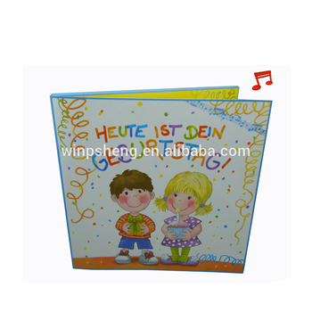 Listen Your Love Baby Shower Greeting Card Born Cards