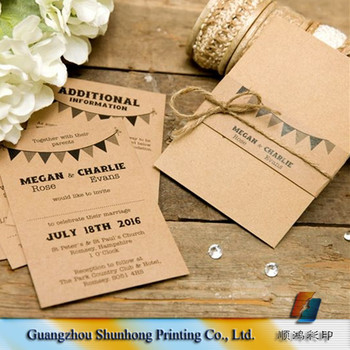 elegant oem printing wedding invitation cards rsvp card set buy