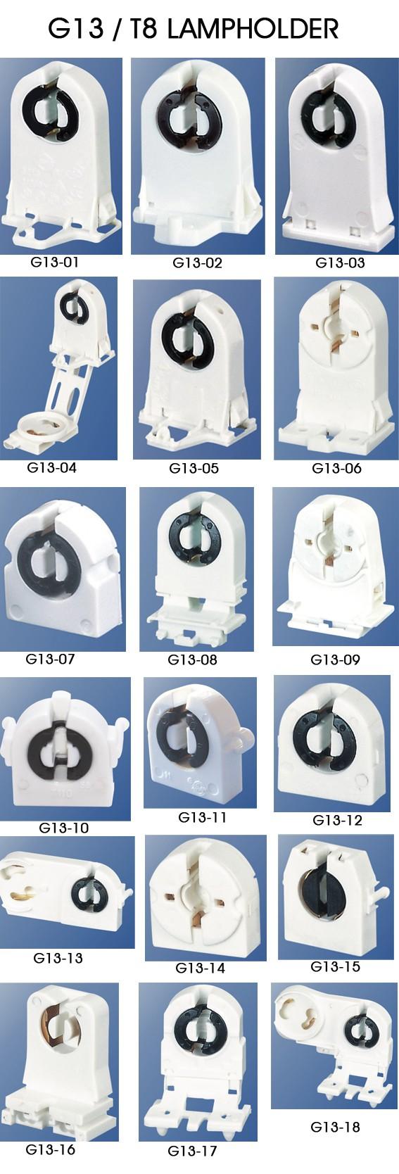 G13 non shunted socket ul listed t8 t10 tube light lamp holder g13 non shunted socket ul listed t8 t10 tube light lamp holder tombstone fixture holder arubaitofo Images