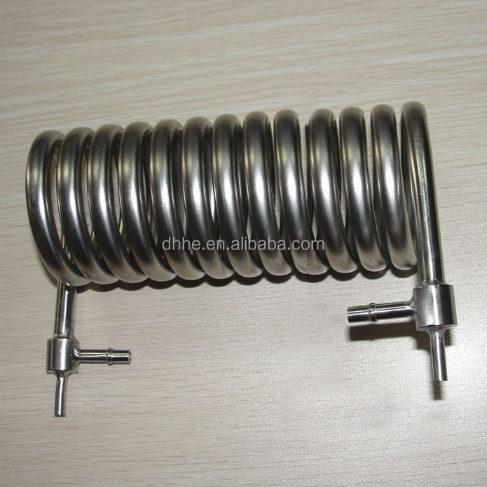 AISI 316L stainless steel evaporator tube coils