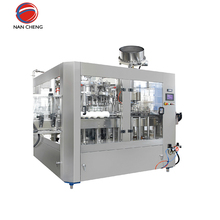 Plastic bottle small liquid paint filling and sealing machine