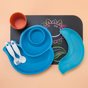 New design unbreakable dinner plates set with compartment