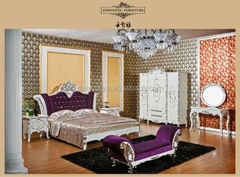 Franc s barroco rococ blanco plata dormitorio de - Dormitorio barroco ...