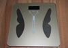 Digital bathroom scale Personal Body fat and water Scale