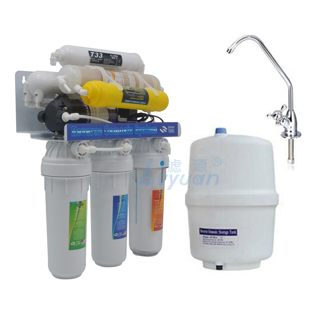 domestic use 8 stage RO reverse osmosis filter with uv and water filters remove calcium