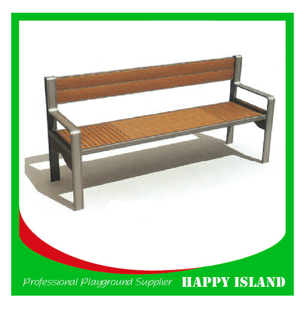 hot new design Chinese manufacturer factory directly solid pine wood bench Benches For Public Park Classic Wooden Furniture
