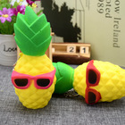 Wholesale Squishy China Supplier Slow Rising PU Foam Glasses Pineapple Squishy Toy