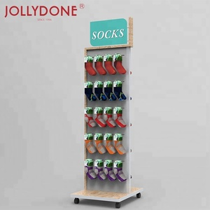 Factory Price Professional Production Socks Shop Supermarket Hook Display Rack