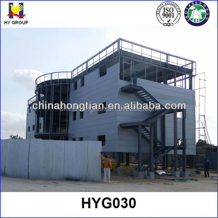 Steel structure building design prefabricated hotel