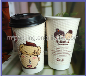 logo as your requested coffee paper cup sample is free