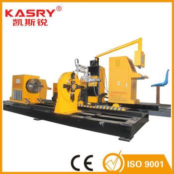 China No.1 Kasry 8 Axis Square & Round Cnc Plasma Cutter / Plasma ...