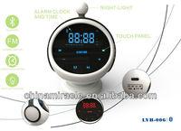 bluetooth speaker high end alarm clocks bluetooth mp3 fm radio player