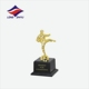 Wholesale taekwondo sports trophy cup metal parts for championship