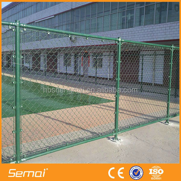 Hot sale cheap hot dipped galvanized chain link fence poles