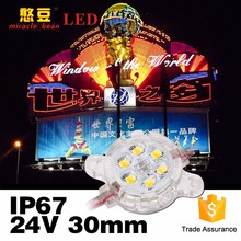 CE & RoHS Outdoor IP67 DC24V Wasserdicht 30mm SMD LED <span class=keywords><strong>Pixel</strong></span> 2835
