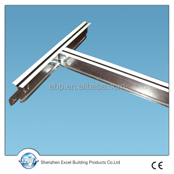 Suspended Ceiling System Used With Plaster Board For Australia Building Buy Wall Bars Plaster Board Aluminum Baked Paint Keel Product On Alibaba Com