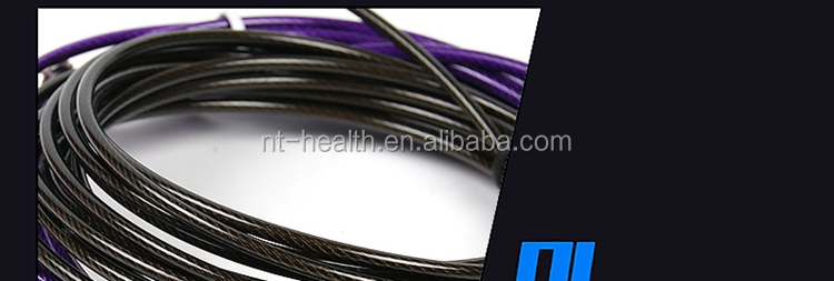 China factory direct supplies low price lightweight and durable weighted skipping rope