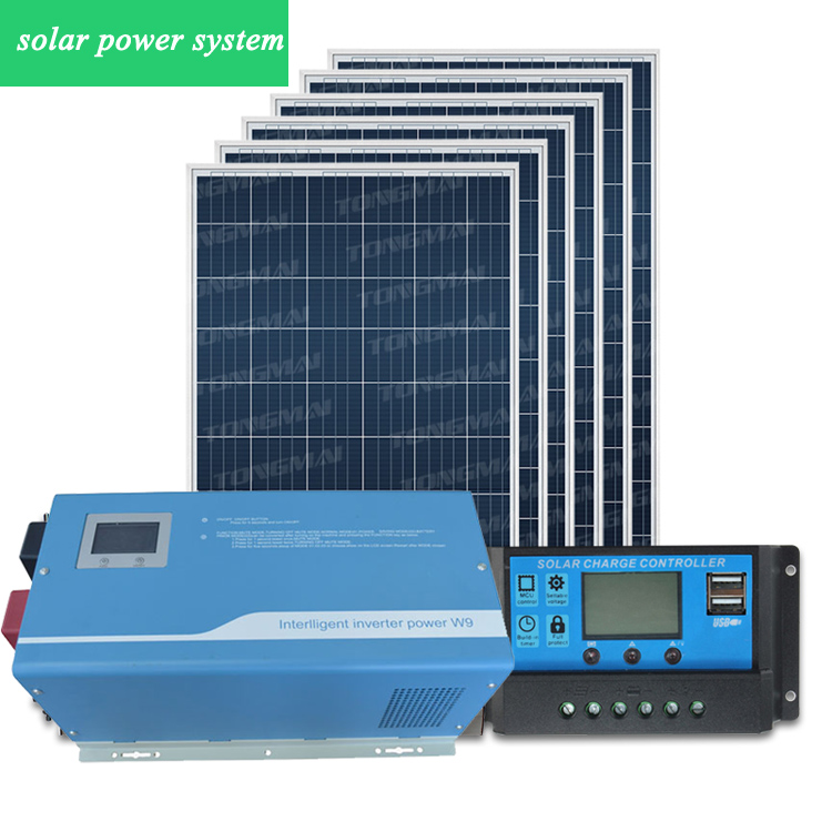 Low price complete dc ac 5000w Micro solar inverter home power system