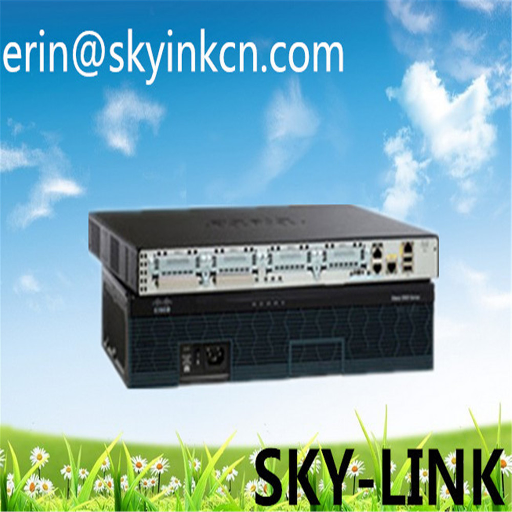 Orginal 2900 Series Integrated Services Routers C2921-CME-SRST/K9 in stock ethernet network router