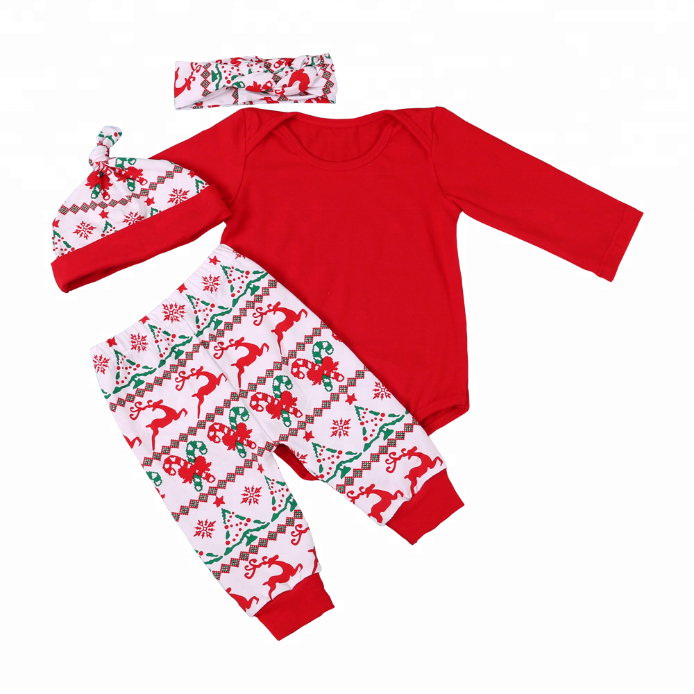 Baby & Toddler Clothing Orderly Baby Girl Christmas Outfits